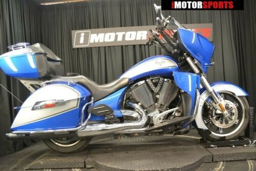 2014 Victory Cross Country Tour Two-Tone Sonic Blue & Silver — BLU for sale craigslist
