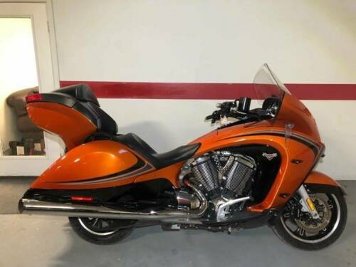 2014 Victory Vision Tour Nuclear Sunset Orange for sale