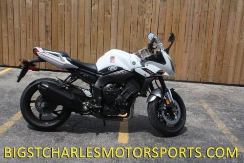 2014 Yamaha FZ White photo
