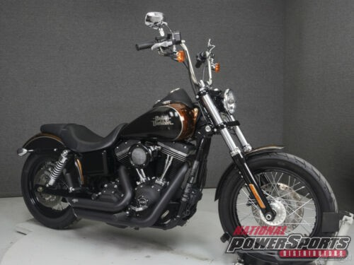 2015 Harley-Davidson Dyna FXDB STREET BOB BLACK/GOLD photo