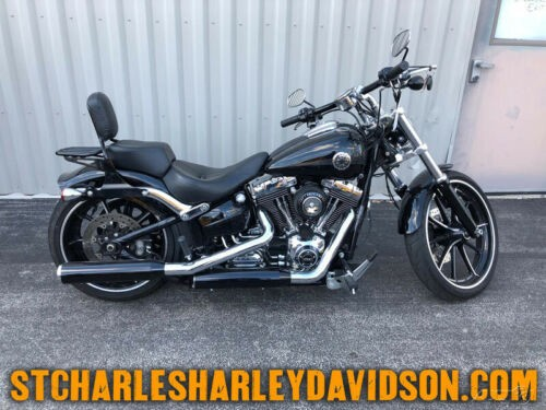 2015 Harley-Davidson Softail FXSB   Breakout® Black photo