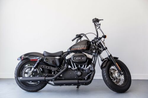 2015 Harley-Davidson Sportster XL1200X  1200 FORTY EIGHT Black photo