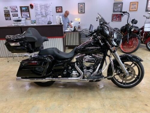 2015 Harley-Davidson Touring FLHXS STREET GLIDE SPECIAL Black photo