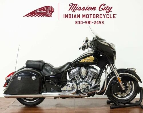 2015 Indian Chieftain® Thunder Black — Black for sale craigslist