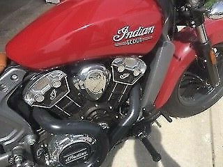 2015 Indian Scout Red photo