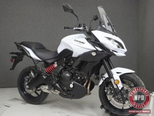 2015 Kawasaki KLE650 VERSYS 650 W/ABS PEARL STARDUST WHITE for sale