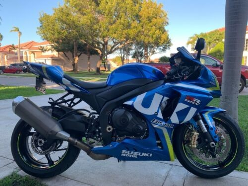 2015 Suzuki GSX-R GSX-R1000 GSXR1000 GSX R1000AL7 only 4K miles Blue photo