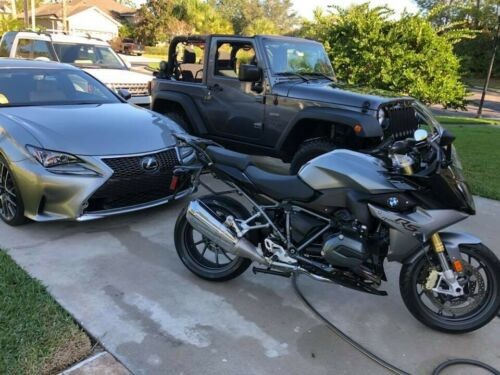 2016 BMW R1200RS Gray for sale craigslist
