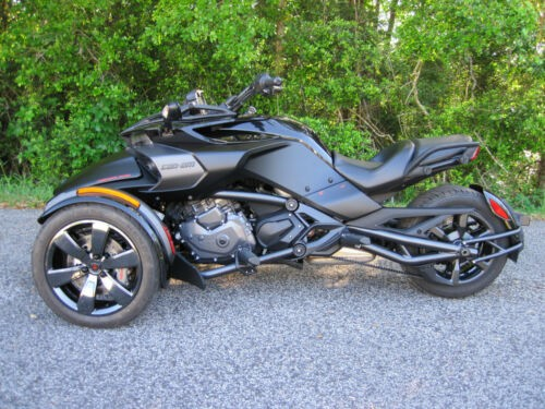 2016 Can-Am Spyder F3-S SE6 Special Edition Black photo