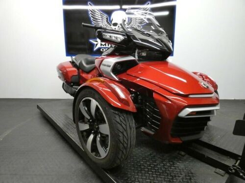 2016 Can-Am Spyder F3-T 6-Speed Semi-Automatic SE6 -- Red photo
