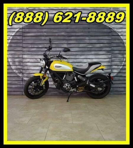2016 Ducati Scrambler -- Yellow photo