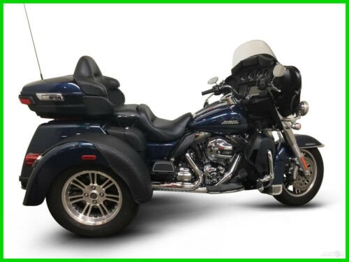 2016 Harley-Davidson FLHTCUTG TRIGLIDE ULTRA CLASSIC CALL (877) 8-RUMBLE Blue photo
