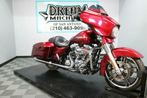 2016 Harley-Davidson FLHXS - Street Glide Special -- Red photo