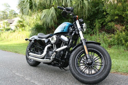 2016 Harley-Davidson XL1200X Forty-Eight Blue photo