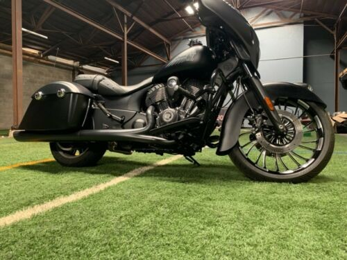 2016 Indian Chieftain Dark Horse Black Smoke photo