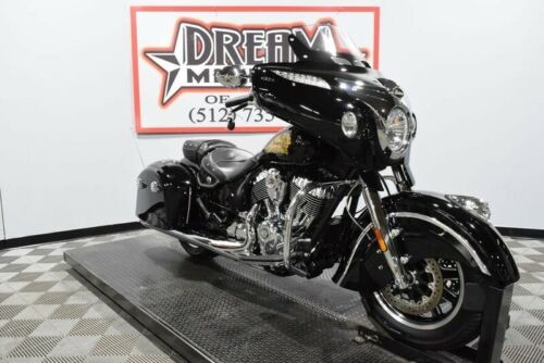 2016 Indian Chieftain -- Black photo