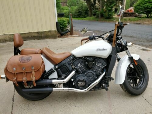 2016 Indian Scout Sixty White photo