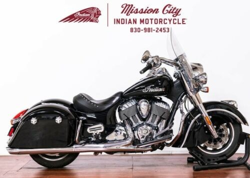 2016 Indian Springfield™ Thunder Black -- Black photo