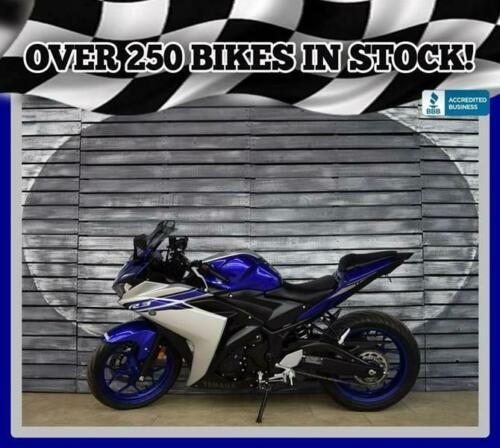 2016 Yamaha YZF-R3 -- Blue for sale craigslist