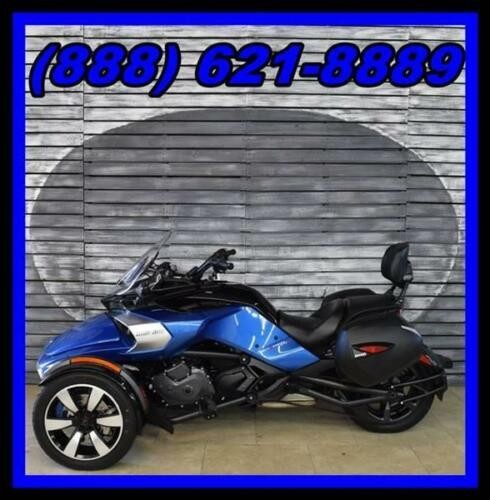 2017 Can-Am Spyder F3 S -- Blue photo