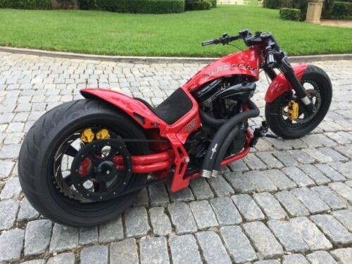 2017 Custom Built Motorcycles Pro Street Red photo