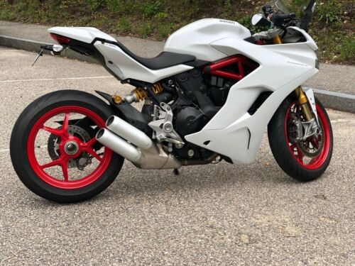 2017 Ducati Supersport White craigslist