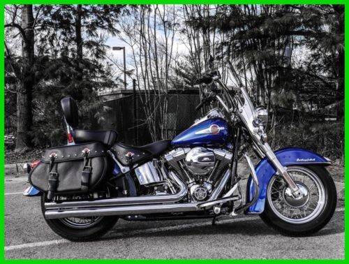 2017 Harley-Davidson Softail FLSTC  Heritage  Classic SUPERIOR BLUE photo