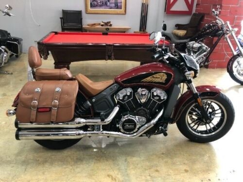 2017 Indian SCOUT ABS BRAKING BURGANDY for sale
