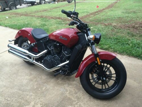 2017 Indian Scout Sixty Indian Red photo