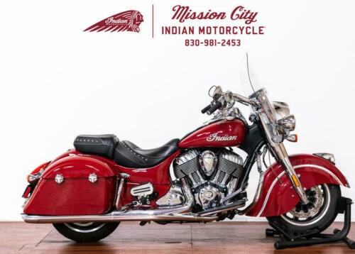 2017 Indian Springfield™ Indian Motorcycle® Red -- Red photo
