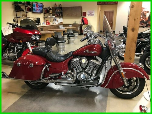 2017 Indian Springfield Red photo