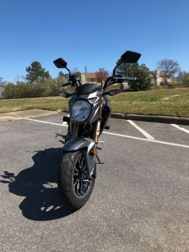 2017 Kawasaki Z125 Metallic Graphite Grey craigslist