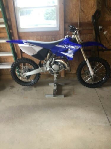 2017 Yamaha YZ Blue photo