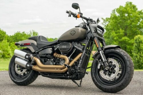 2018 Harley-Davidson Softail Industrial Gray photo