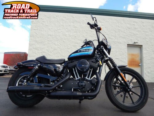 2018 Harley-Davidson XL1200NS - Sportster® Iron 1200™ -- Black photo