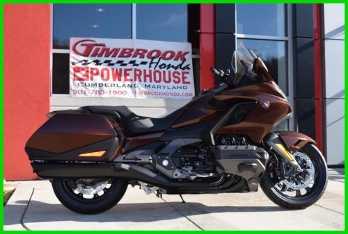 2018 Honda Gold Wing DCT PEARL STALLION BROWN photo
