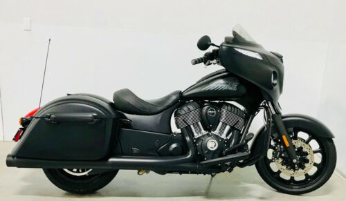 2018 Indian Chieftain Dark Horse® ABS Black Smoke photo