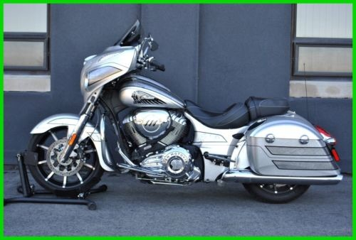 2018 Indian Chieftain Elite (2,819 Miles) - N18TCEAAAY Black photo