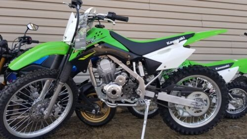 2018 Kawasaki KLX 140G -- Green photo