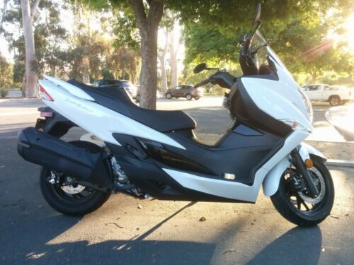 2018 Suzuki Burgman 400 ABS White for sale craigslist