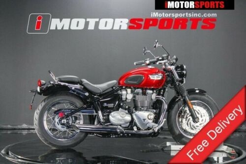2018 Triumph Bonneville Speedmaster Cranberry Red — Red for sale