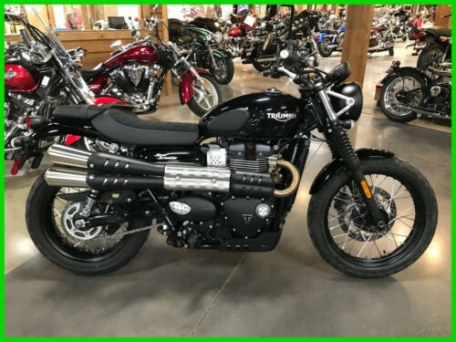 2018 Triumph Street Scrambler Black photo