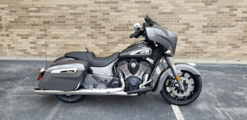 2019 Indian Chieftain® ABS -- Gray photo