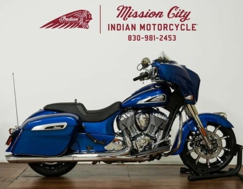 2019 Indian Chieftain® Limited Icon Series Brilliant Blue — Blue for sale