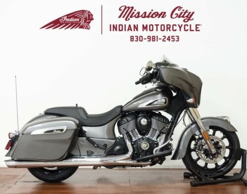 2019 Indian Chieftain® Steel Gray -- Gray photo