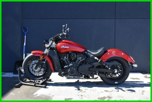2019 Indian Scout Sixty ABS - N19MSA11AB Ruby Red photo