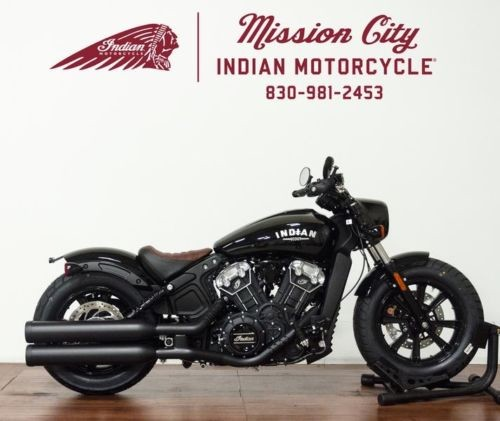 2019 Indian Scout® Bobber ABS Thunder Black — Black craigslist