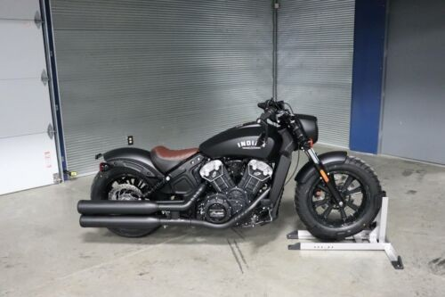 2019 Indian Scout® Bobber ABS -- Black photo