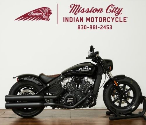 2019 Indian Scout® Bobber Thunder Black — Black for sale