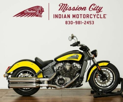 2019 Indian Scout® Icon Series Thunder Black/Indian Motorcycle -- Black photo